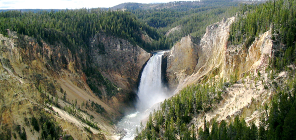 yellowstone national park volcano. Yellowstone National Park is